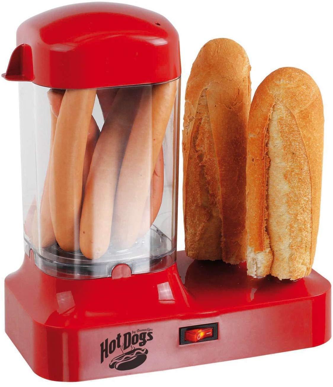 Hot dog maker machine à Hotdog pour 8 saucisses